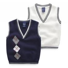 เด็กเด็กเสื้อกั๊กเสื้อถักเสื้อกั๊กเสื้อรูปแบบสำหรับประเทศจีนขายส่ง