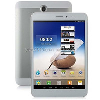 """3G 7.85"""" Tablet PC/Phablet Android 4.4 MTK8382 Quad Core 1.3GHz Dual Cameras GPS Bluetooth 512MB RAM 8GB ROM"""