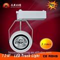 12w rodada led track spot light lâmpada com o sabugo de fontes para a loja de roupas 2 3 linhas linhas disponíveis da china