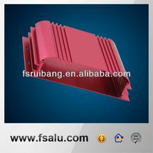 extrusion aluminum car audio faceplate case