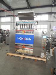 DXD-840 Automatic Multi-lanes Sachet Packaging Machine, Sugar, Salt, chicken bouillon, Silica gel, Hondon Brand