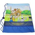 personagem dos desenhos animados saco com cordão bookbags escola crianças saco mochila das crianças