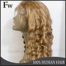 2015 fashion Brazilian Hair Wigs Deep Curly Full Lace Human Hair Wigs