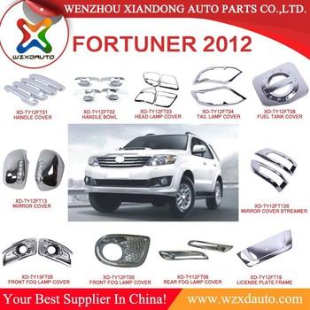 2009 2012 Toyota Fortuner Auto Agtermarket Parts Car Accessories
