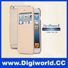 Window View Flip Leather Case for iPhone 6 6 Plus Smart Answer Phone Cover
