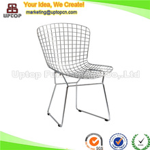 (SP-MC021) wholesale modern metal wire mesh outdoor chair