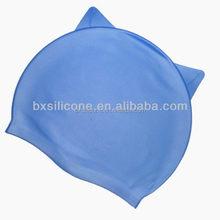 Designer hot sale cheap silicone swimming caps wholesale