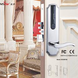 Hotel key card rf reader door lock