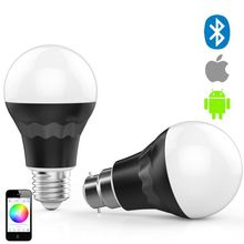 cheap products in usa,negative ion protect skin damage led bulb 5w warm white control by SmartPhone