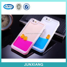 Flow Duck Lovely Hard Case For iPhone 5/5s/6/6 Plus Plastic Duck PC Case