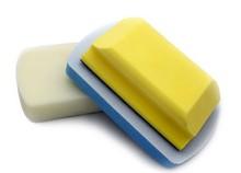 Lijado a mano bloque con Velcro aplicador espuma auto wash kit