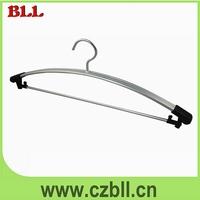 Metal Material Pvc Coated Hanger,Top Metal Hanger