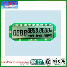 monochrome segment digital lcd tv display vga module for meters