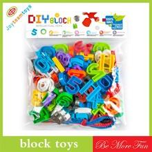 Interesting puzzle block digital assembly block