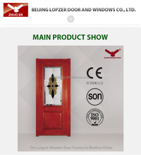 hot sale current popular interior wooden doors with customed make