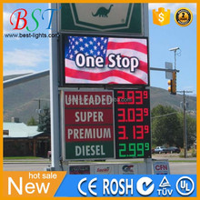 displays para gasolineras precios