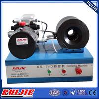 KG-75D one piece hose fittings crimping machine, maquinas para prensar mangueras hidraulicas
