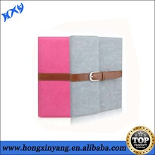 HXY Business portable leather case for ipad 2 ,durable leather case