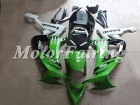 fairing kit zx10r for Kawasaki ZX10R 2009-2008 zx10r body fairing 08-09 ninja zx 10r green white zx10r bodykit zx10r parts