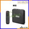 Hot selling MX8 Quad Amlogic S802 4k*2k XBMC IPTV Android M8 android tv setup box 3g