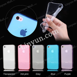 Factory Direct Selling Ultra Thin 0.3mm Soft TPU Case for iPhone 4/4s