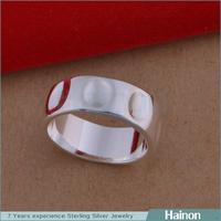 Elegant Wedding Silver only Pakistani New Style Ring