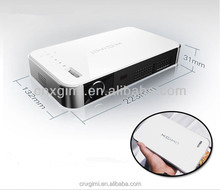 small fashionable DLP cheap portable projector for iPhone & smartphones