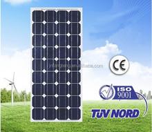 India Price Monocrystalline Solar Panels 80W-100W