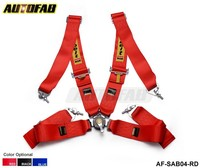 AUTOFAB - 2015 New Racing Satefy Seat Belt FIA 2020 Homologation /width:3 inches/4Point Default color is red AF-SAB04
