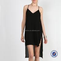 designer clothing manufacturer in china ladies western dress designs crochet back tunic dress