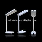 pequeno plástico branco quente recarregável Solar LED lanternas