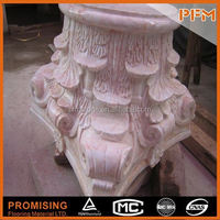 PFM Chinese new hot sale luxury stone pillar copper pillar for design & project