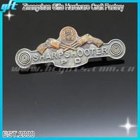 2015 NEW!! Antique Gun Shooter Lapel Pins/ Souvenir Gun Old Badges GFT-KC692