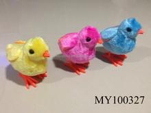 2015 easter gift plush wind up big hen/ plush easter hen(hot sale)