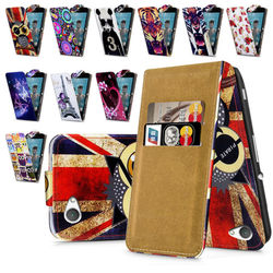 Compact High Quality Print Flip PU Leather Case Cover,Moible Phone Case For Sony Xperia Z1