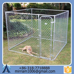 2016 hot sale large outdoor dog kennel/pet house/dog cage/run/carrier