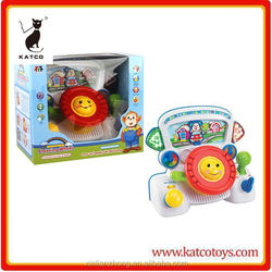 kids electronic learn and discover toy driver with sound and light