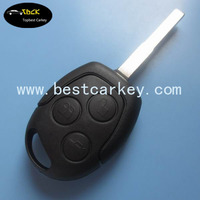 Top quality 3 button 433Mhz car key for ford focus remote key with 4D63 chip