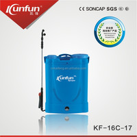 16L recharge battery for agriculture electric sprayer 12V,12Ah