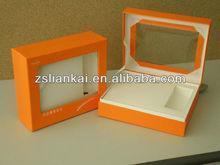 Decorative custom paper cosmetic box printing
