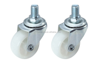 office chair caster wheel/plastic wheel for sofa with screw