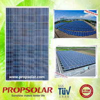 Propsolar best price 200 watt solar panel south africa with full certificate TUV CE ISO INMETRO
