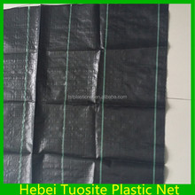 Garden Pp Woven Ground Cover / Black Ground Cover/Anti Weed Mat Uv Stabilized