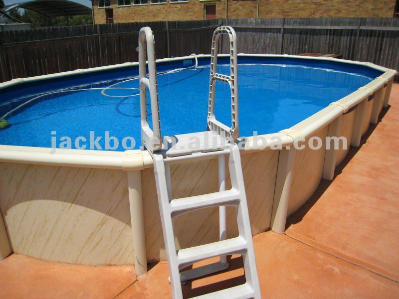 New Arrival Hot Sale Indoor Above Ground Pool Metal Frame Above Ground Pool Oval Pool Buy