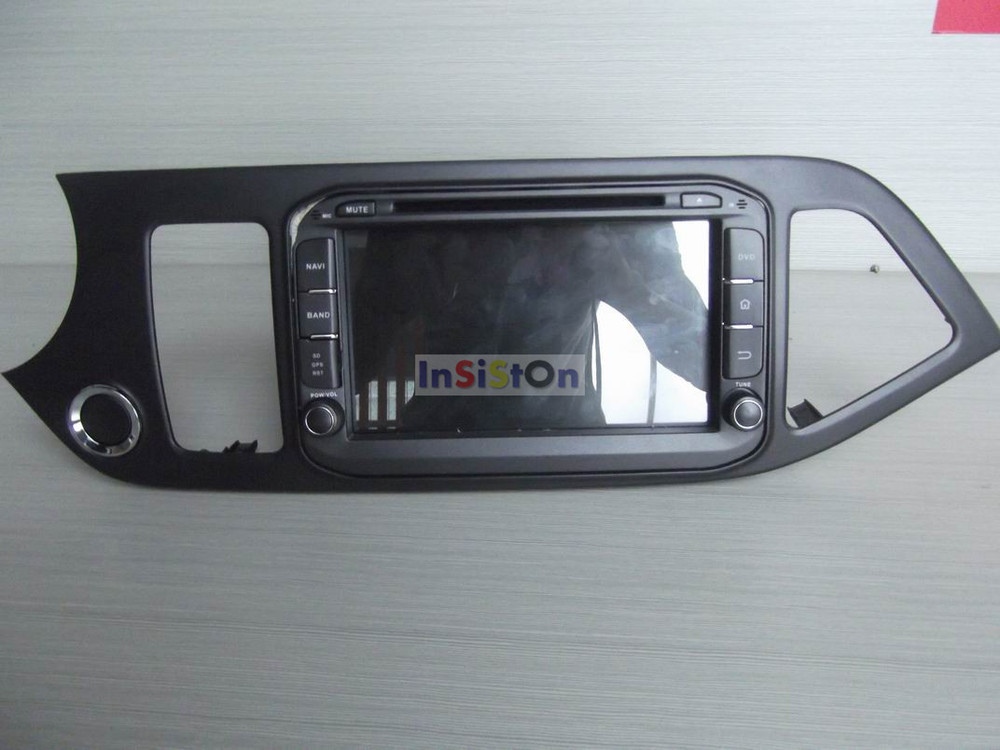 Free Shipping+Pure Android 4.2.2 Kia Picanto Morning 2014 dvd gps ...