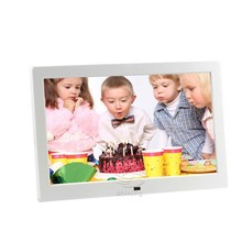 8 10 12 inch electronic gif outdoor waterproof rotating flower usb powered mp4 wifi voice recording digital photo picture frames