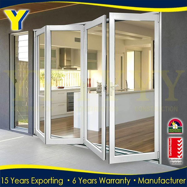 Frameless Folding Door 24 Inches Exterior Doors Modern Entry Doors Buy Fol