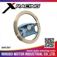 wholesale Professional cloth steering wheel cover