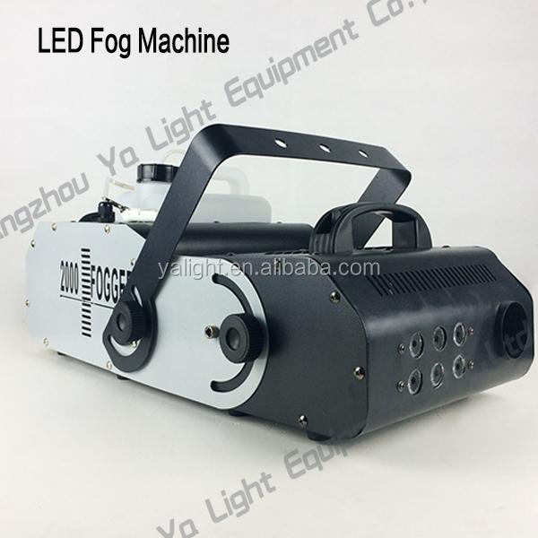 fog machine parts