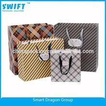 personalizado impreso bolsa de papel de impresión con el mejor precio y el logotipo de impresión